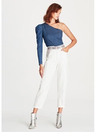 Mavi Jean Pantolon Beyaz